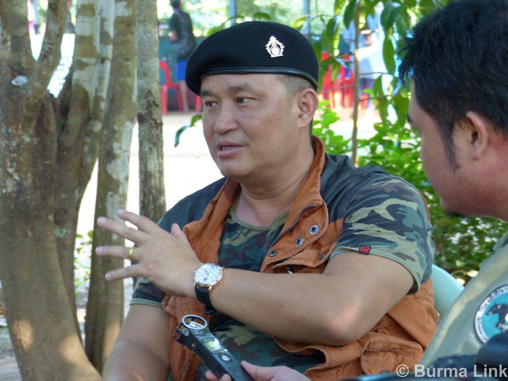 Burma Link Major General Nerdah Bo Mya KLNA