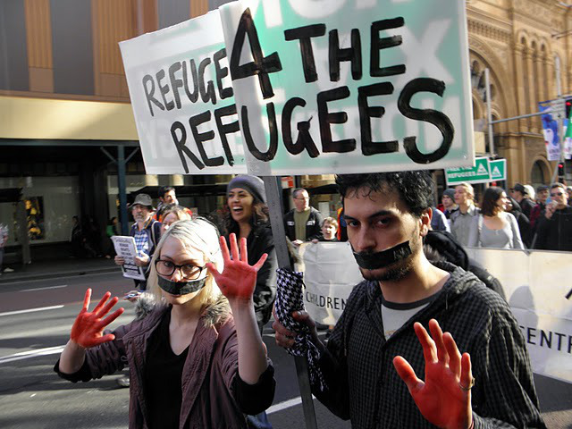 sydney-refugee-protest