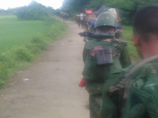 Rohingya-Blogger-Rohingya-Civilians-Come-under-Heavy-Military-Attacks-in-Northern-Arakan
