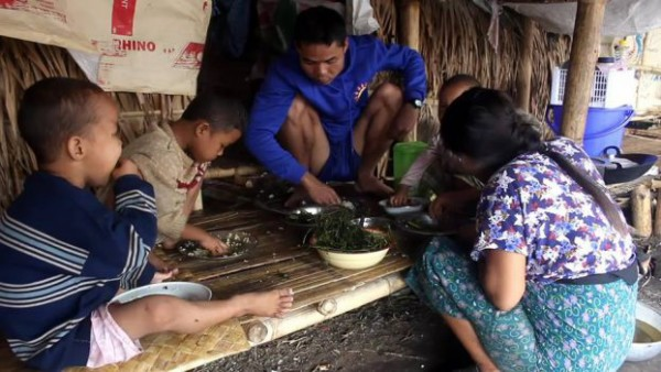 Burma-Link-Karen-IDPs-Suffer-Food-Shortages-As-Clashes-Rage-Nearby